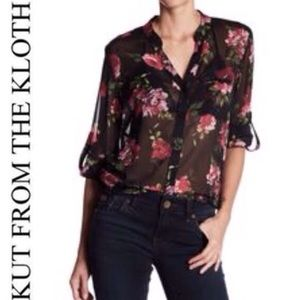 Kut from the Kloth Sinclair Blouse